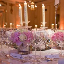Traditional Weddings, Table Decorations And Wedding Flowers On