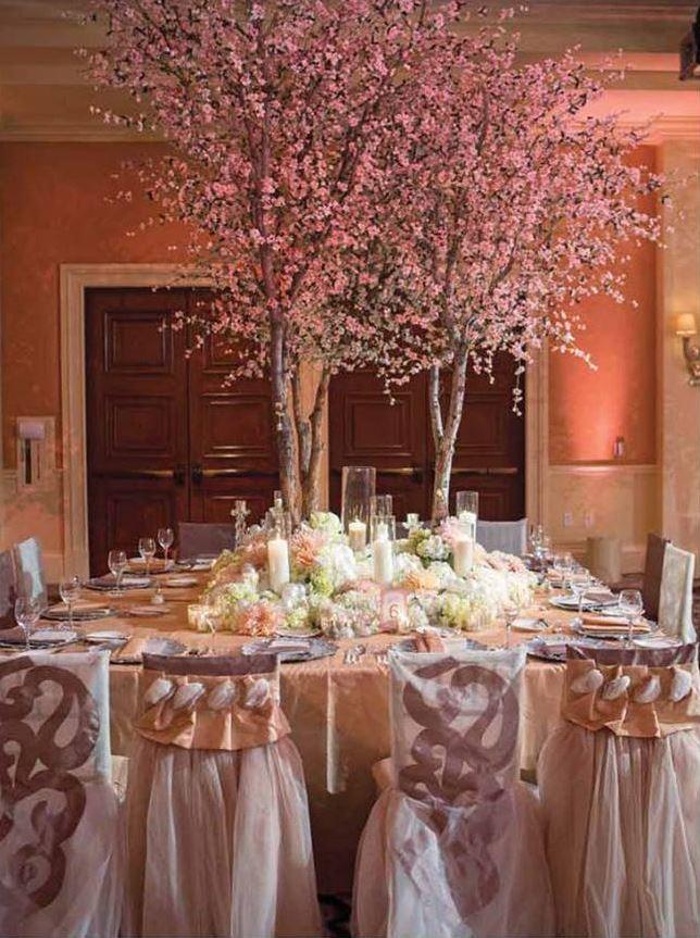 Tree Wedding Centerpieces