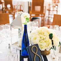 Tying The Knot A Beautiful Nautical Wedding Hostess With The
