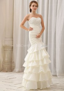Us$200 99 Alluring Strapless Sweetheart Beading Bodice Organza