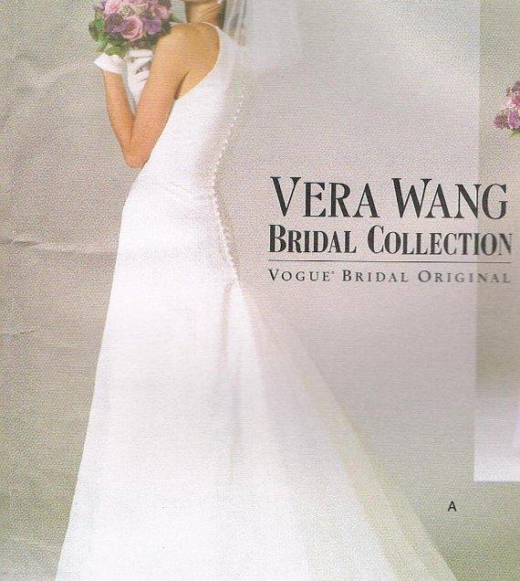 Vera Wang Wedding Dress Pattern Vogue 2118 By Jferraridesigns
