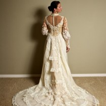 Victorian Style Wedding Gown