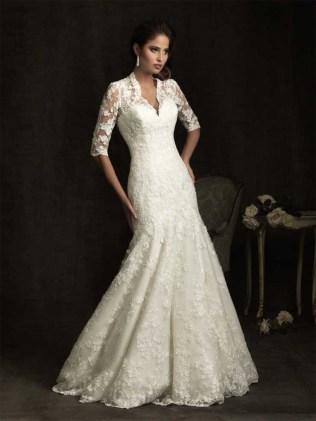 Vintage French Wedding Dress