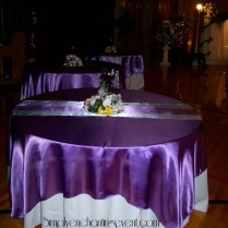 Wedding Purple Lilac And Silver Wedding Decor