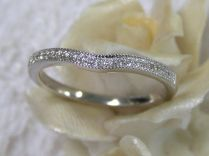 Wedding Bands Curved Wedding Bands