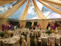 Ceiling Drapes For Weddings