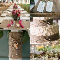 Wedding Decor Inspiration Burlap