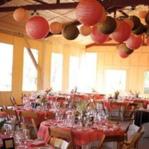 Wedding Decoration Ideas Outdoor Coral Wedding Decor Ideas With
