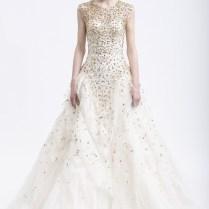 Wedding Dresses Cream And Gold