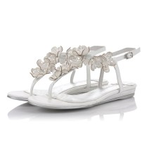 Wedding Flats, Flat Sandals And White Weddings On Emasscraft Org