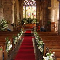 Wedding Flowers Wedding Church Alter Flowers