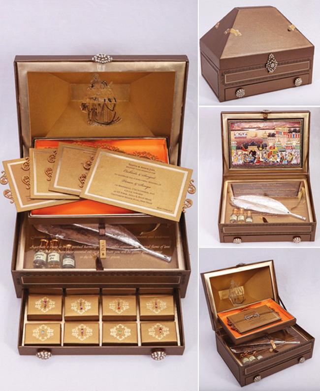 Gift Box Wedding Invitations: Gift Box Wedding Invitations