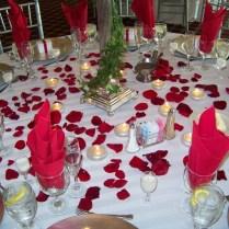 Wedding Table Decoration Ideas Blue