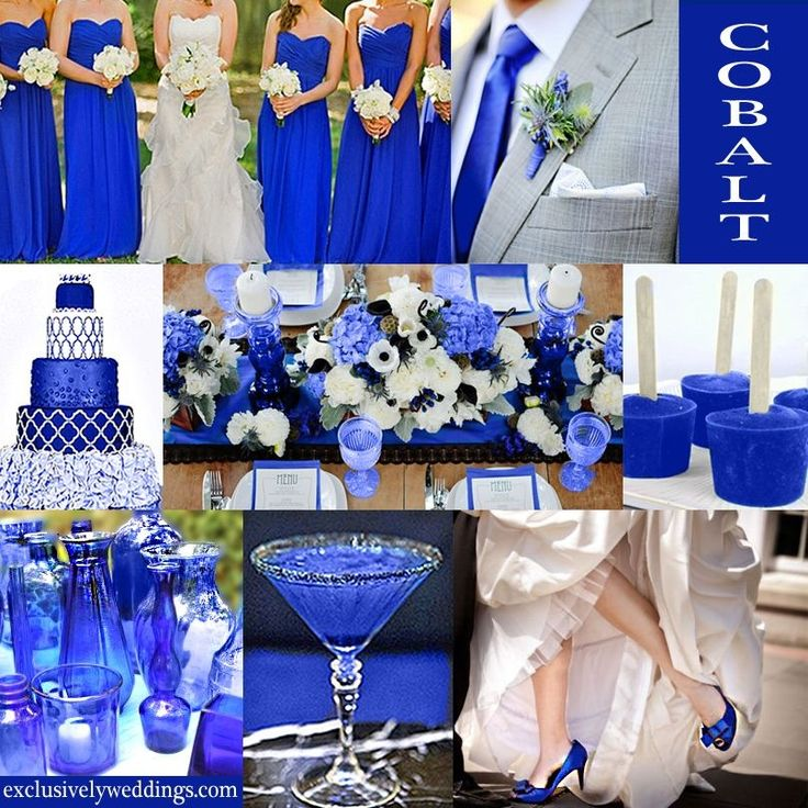 5 Green Wedding Decorations That Will Leave You Speechless: Royal Blue Wedding Theme