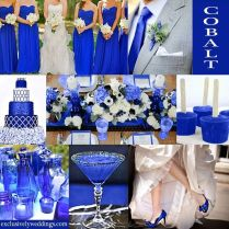 Wedding Table Decoration Ideas Royal Blue