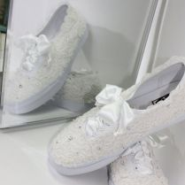 Wedding Tennis Shoes, Lace And Wedding On Emasscraft Org