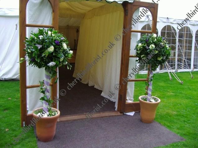 Wedding Topiary Trees
