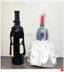 Wedding Wine Bags Wedding Wine Bottle Wraps Favor Holders Wedding