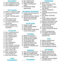 Weddings – Wedding Planning Checklist – Go Barbados