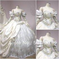 White Belle Wedding Dress