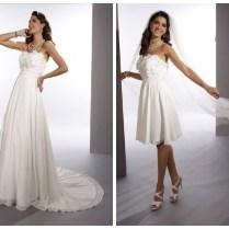 Whiteazalea 2 In1 Wedding Dresses December 2012