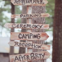 Woodsy Camp Wedding
