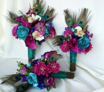 1000 Ideas About Peacock Wedding Flowers On Emasscraft Org