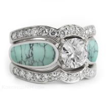1000 Ideas About Turquoise Wedding Rings On Emasscraft Org