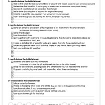 1000 Images About Bridal Shower Checklists On Emasscraft Org