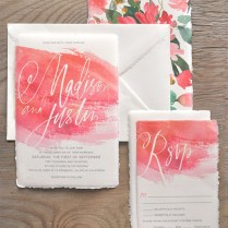 1000 Images About Watercolor Wedding Invitation On Emasscraft Org