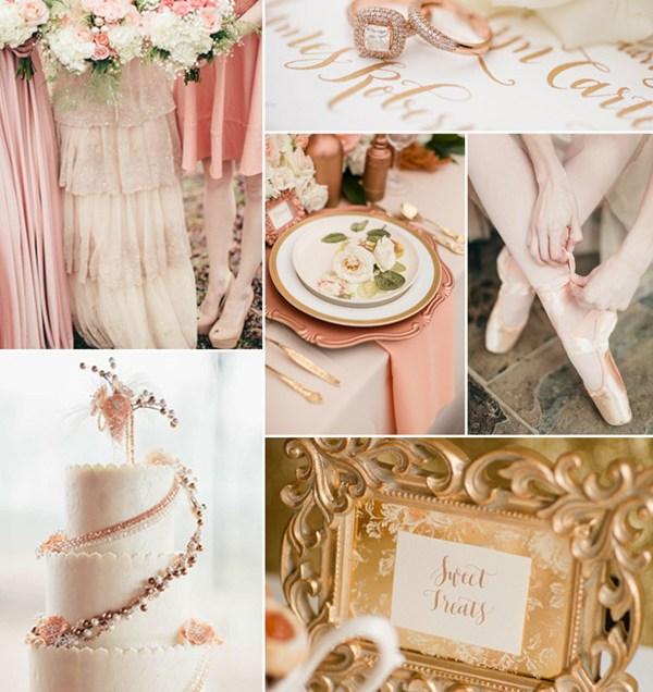 10 Hottest Gold Wedding Color Ideas