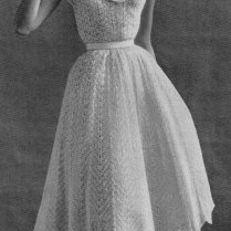 14 Beautiful Crochet Dress Patterns Then And Now