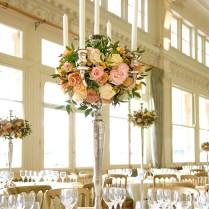 15 Candelabra Floral Centerpieces