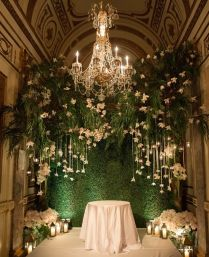 30 Fun And Creative Wedding Reception Backdrops You'll Love