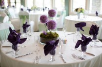 A Pretty Purple And Gray Ohio Wedding At Aston Oaks With One
