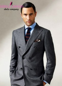 Aliexpress Com Buy 2015 New Design Men Blazer Suit Dark Grey