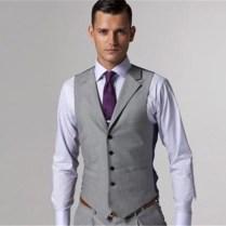 Aliexpress Com Buy Custom Made Mens Light Grey Suits Jacket