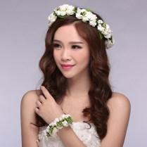 Aliexpress Com Buy Elegant Girl Flower Girl Floral Headdress