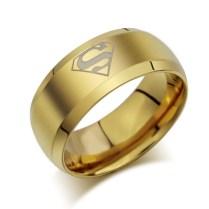 Aliexpress Com Buy Fivetwoo Il026 Jewelry Simple Superman Logo