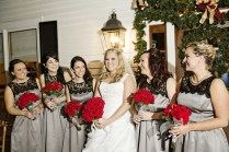 Ashley And Vince's Antebellum Christmas Wedding