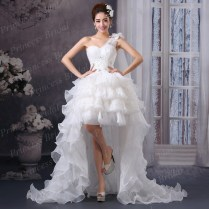Asymmetric Wedding Dresses Online Shopping