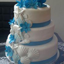 Beach Themed Wedding Cake Beach Themed Wedding Cakes Beach Theme
