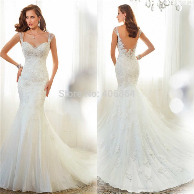Beautiful Wedding Dresses 2015