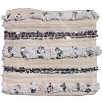 Beige Moroccan Wedding Blanket