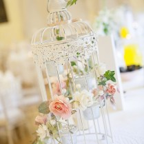 Birdcage Wedding Centerpiece Steven Hanna Photography