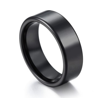 Black Wedding Band – 7