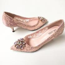 Blush Wedding Shoes Price Comparison