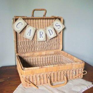 Card Basket For Wedding