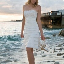 Casual Beach Wedding Dresses 2015 Ideas