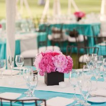 Chair Signs Sleek Aqua Reception Decor Wedding Table Decoration